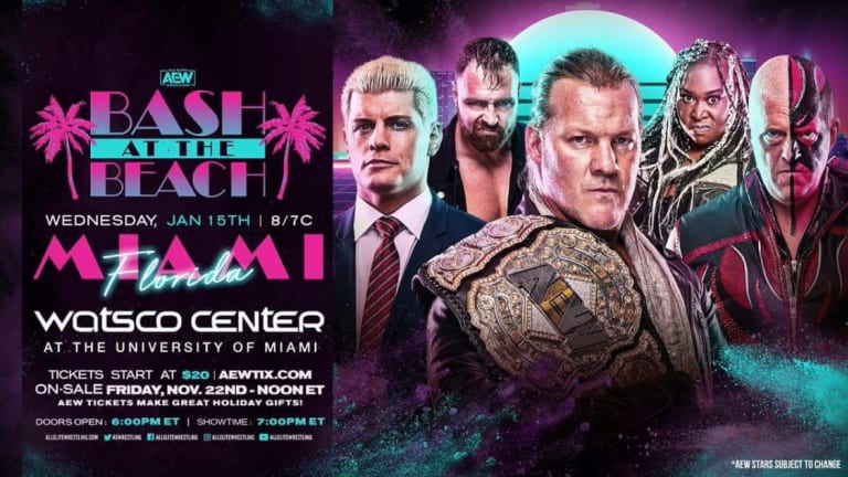 AEW Announces Bash At The Beach, Press Release Released