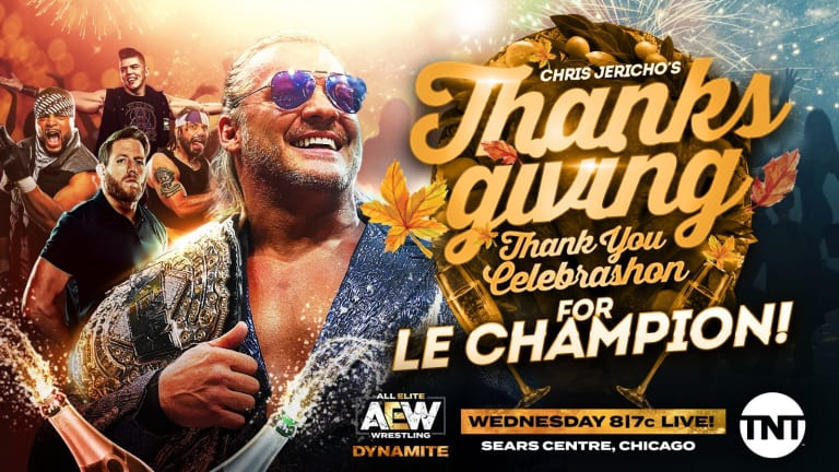 Celebrashon for Le Champion (AEW Results 11-27-19)