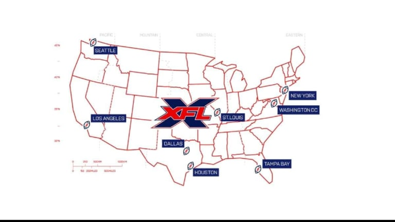 All Locations Announced For Teams For XFL in 2020