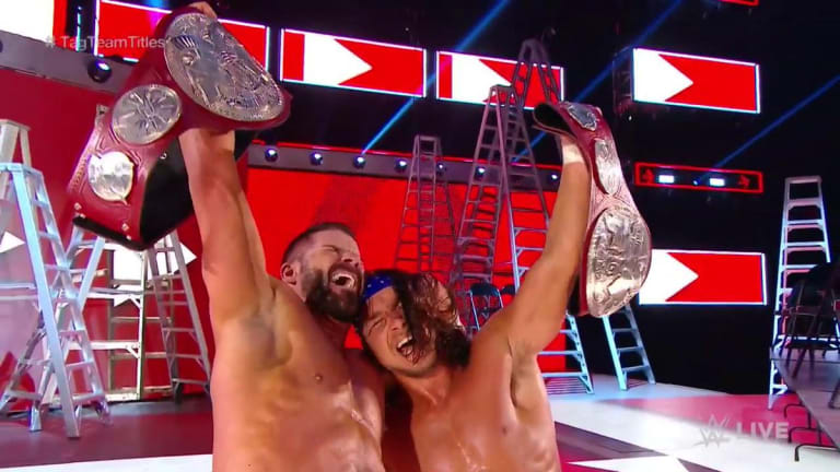 Bobby Roode and Chad Gable Win RAW Tag Team Titles