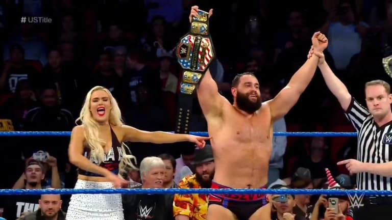 Rusev Wins United States Championship on Smackdown