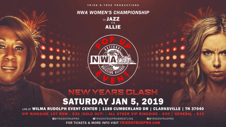 NWA New Year's Clash Pop-Up Event Results (01.05.19)