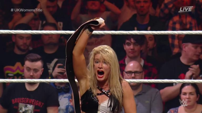 Toni Storm Captures NXT UK Women's Championship at TakeOver