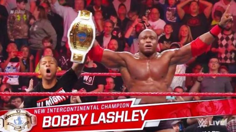 Bobby Lashley Re-Captures the Intercontinental Championship on RAW