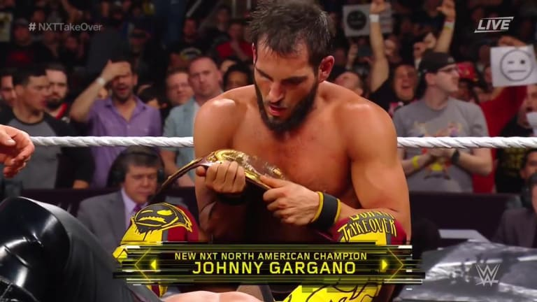 Johnny Gargano Captures North American Championship, Marking His First Singles Title