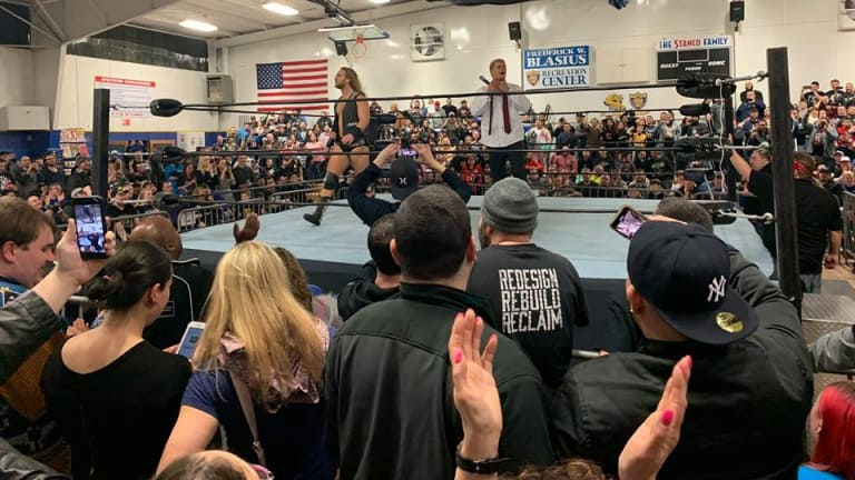 Cody Rhodes and Hangman Page Crash Northeast Wrestling Show
