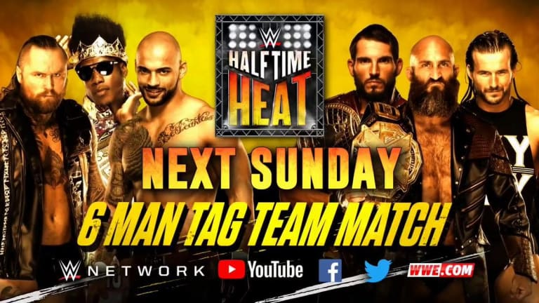 Halftime Heat to Return With Major NXT Match