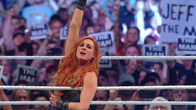 Becky Lynch Wins Second-Ever Women's Royal Rumble