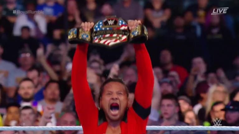 Shinsuke Nakamura Wins the United States Championship for the Second Time