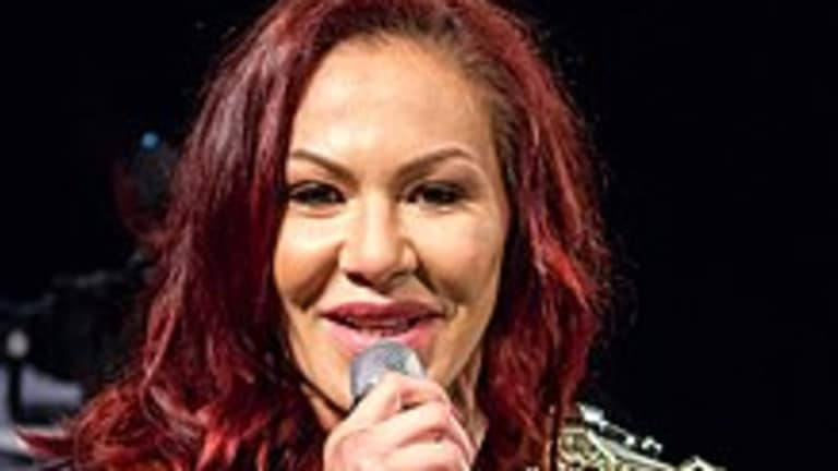 Cris Cyborg Spotted at WWE Performance Center