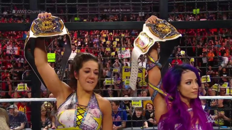 First-Ever Women's Tag Team Champions Are Crowned at Elimination Chamber