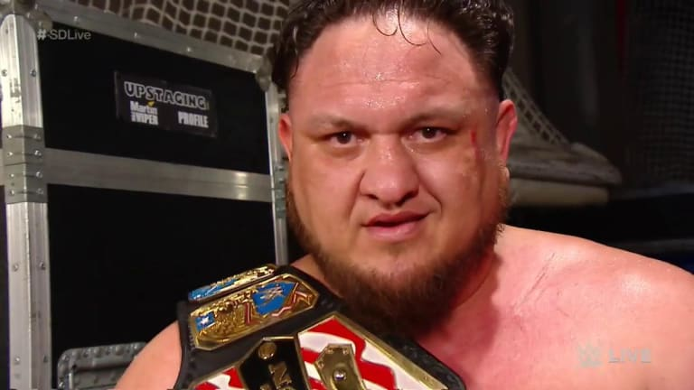 Samoa Joe Wins United States Championship on Smackdown