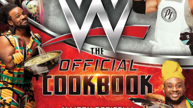 WWE Cookbook Review by Zack Krasney