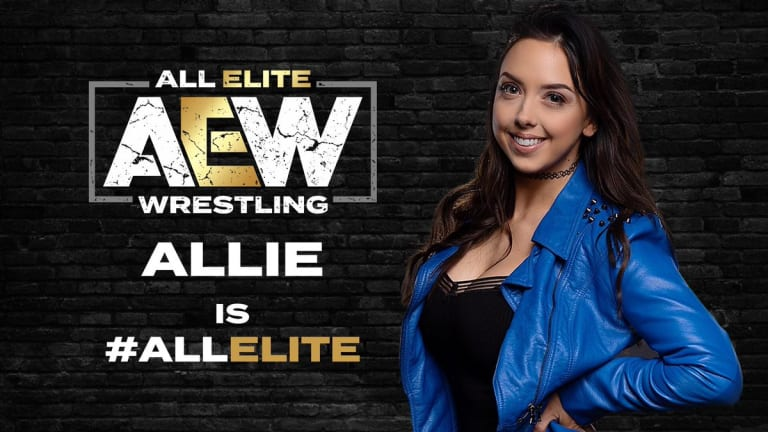 Allie Signs with AEW