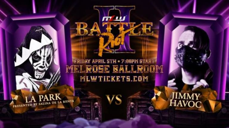 MLW's 2019 Battle Riot In NYC Press Release