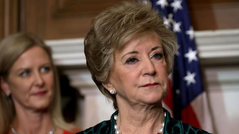 Linda McMahon Expect To Step Down as the Head of the Small Business Administration