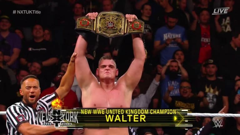 WALTER Ends Pete Dunne's 685-Day Reign And Becomes New United Kingdom Champion
