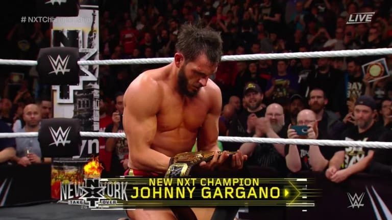 Johnny Gargano Becomes the New NXT Champion at TakeOver
