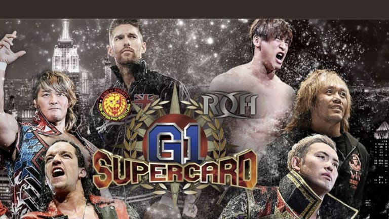 WNW Is Live At Madison Square Garden For G1 Supercard