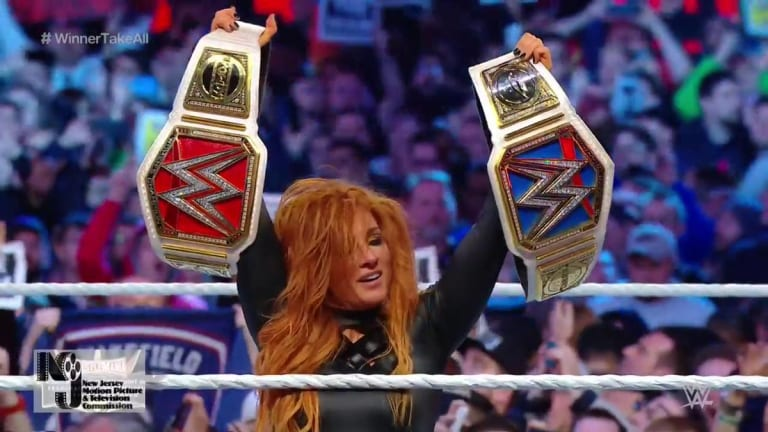 Becky Lynch Captures the RAW and Smackdown Women's Championships
