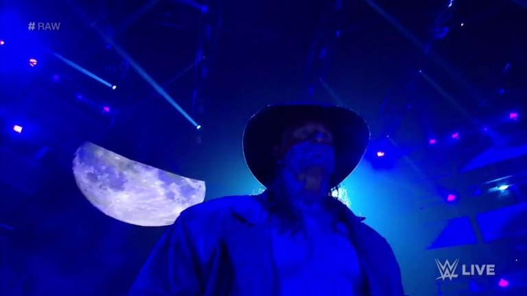 The Undertaker Makes Surprising Appearance on RAW