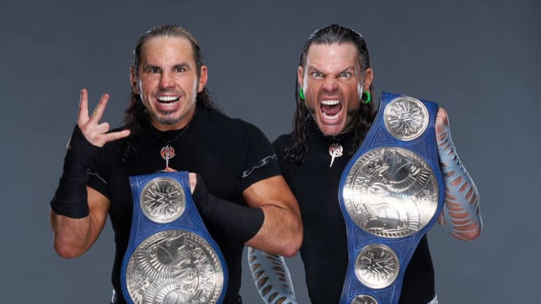 The Hardy Boyz Capture the Smackdown Tag Team Titles, Lars Sullivan Attacks