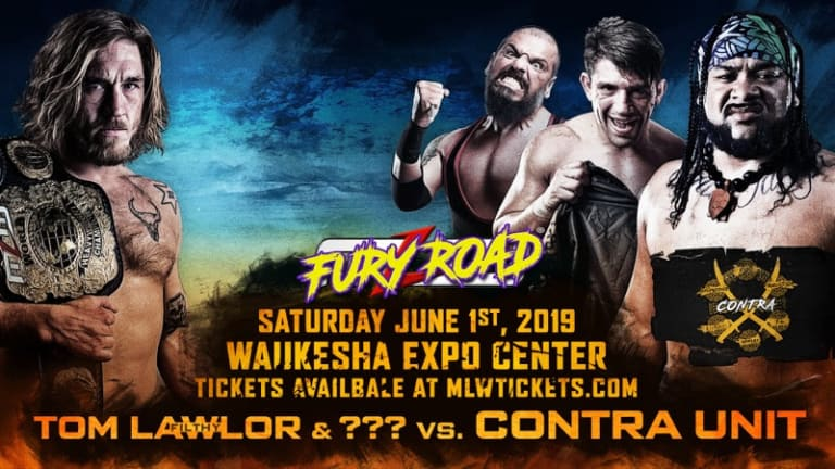 """""""Filthy"""" Tom Lawlor Goes to War Against CONTRA Unit in Milwaukee on June 1st"""