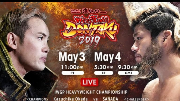 NJPW Dontaku Night Two Results (05/04/19)