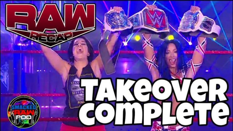 Two Woman Power Trip! Raw Rundown 7.27.20 | Smacked Raw Podcast |