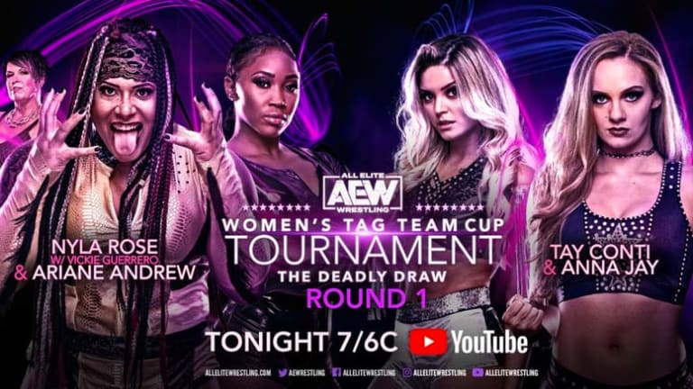 AEW Women's Tag Team Cup Tournament LIVE Coverage