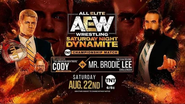 AEW Dynamite Coverage for 8/22/20