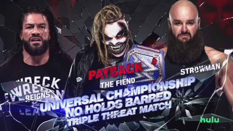 WWE Payback 2020 LIVE Coverage & Results