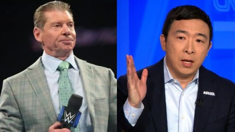 Former Presidential Candidate Andrew Yang Threatens Legal Action On Vince McMahon