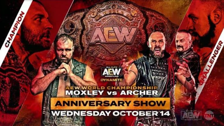 AEW World Championship Match Set For Special Anniversary Dynamite Episode