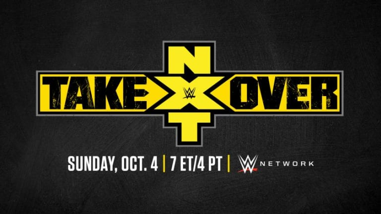 WWE Announces NXT TakeOver Set For October 4th