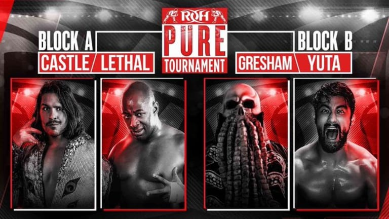 ROH Pure Tournament 1st Rd. Lethal/Castle & Gresham/Yuta Results