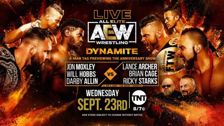 AEW Dynamite Preview 9/23/20