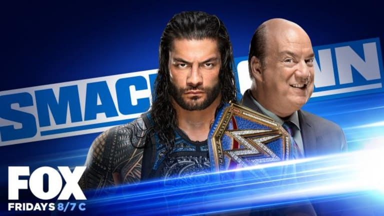 Friday Night Smackdown LIVE Coverage and Results (10/2/20)