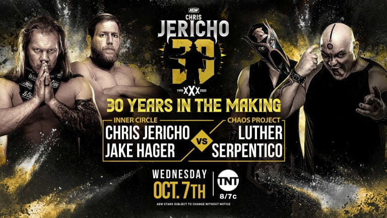 30 Years of Chris Jericho AEW Dynamite Preview (10/7/20)