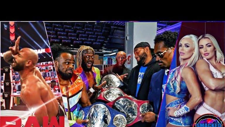 Twisted Union! Final Night of WWE Draft! Raw Recap Podcast 10/12/20