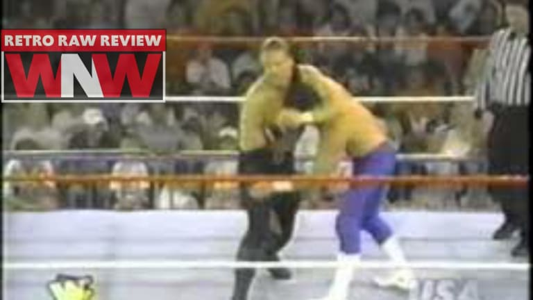 WNW Retro Review First Watch RAW July 10th, 1995