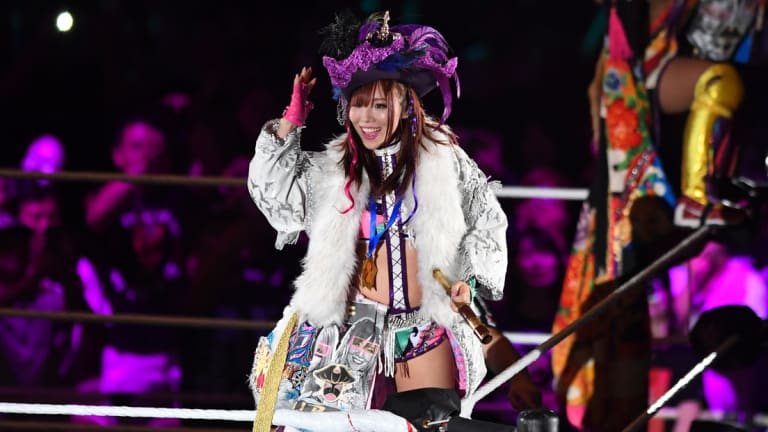 Kairi Sane Joining WWE Japanese Commentary Team For Hell In A Cell PPV