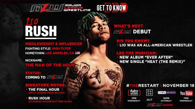 Lio Rush Announced for MLW Restart
