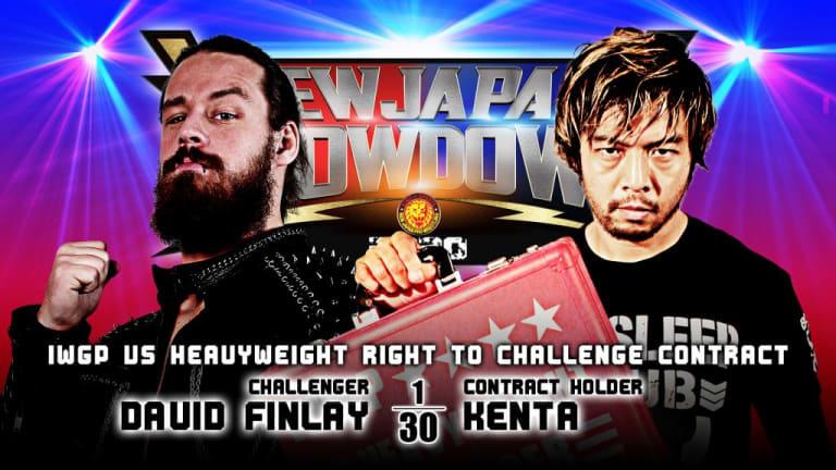 New Japan Showdown Week Two Card Announced