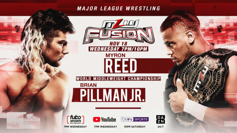 MLW World Middleweight Championship Match set for The Restart