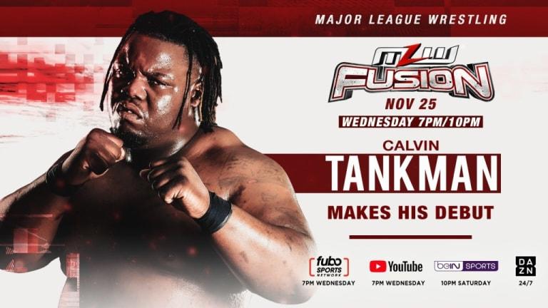 Calvin Tankman makes MLW debut this Wednesday