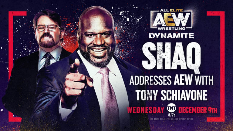 *BREAKING NEWS* SHAQ Makes AEW Debut This Wednesday