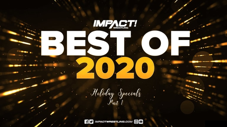 Impact Wrestling 2020 Year End Awards Part One Results 12. 22. 20