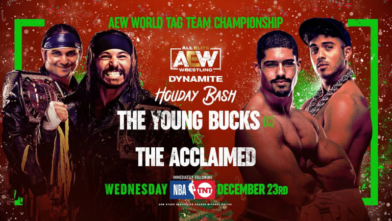 AEW Dynamite: Holiday Bash Preview 12. 23. 20