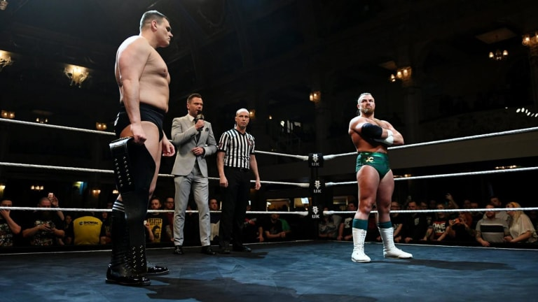 Relive Joe Coffey vs WALTER at NXT TakeOver Blackpool II on the Christmas Eve editon of NXT UK